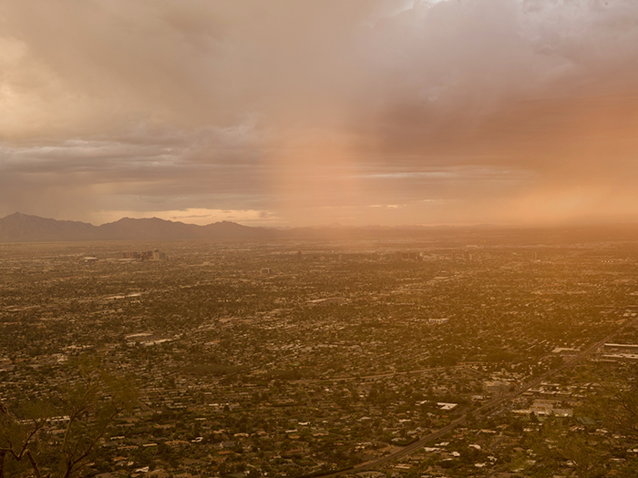 """Phoenix from Camelback Mountain"". 2011"