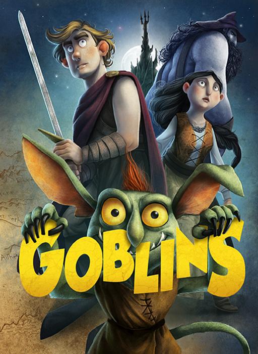 Portada de Goblins; edición española del libro de Philip Reeves, editado por Anaya