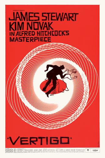 Cartel para Vértigo (1958)