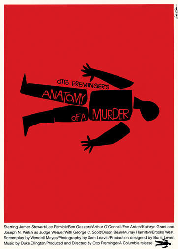 Cartel para Anatomy of a Murder (1959)