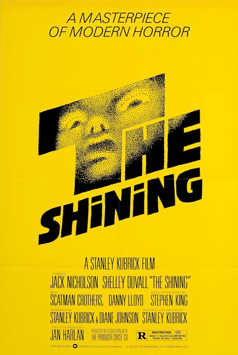 Cartel para The shining (1980)