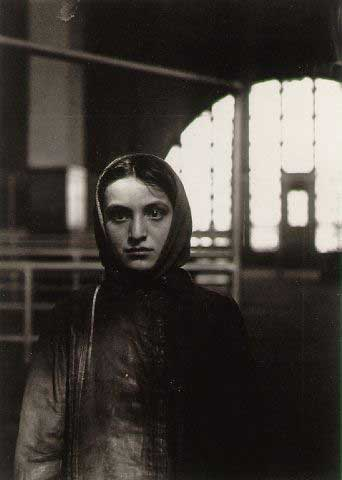 Young Russian Jewess, Ellis Island, New York, 1905