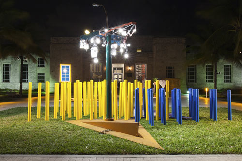 """""""Angled Tangle"""", instalación, 2014"""