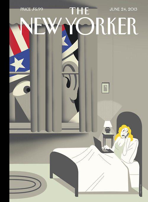 """Uncle Sam is Listening"", portada de Richard McGuir"