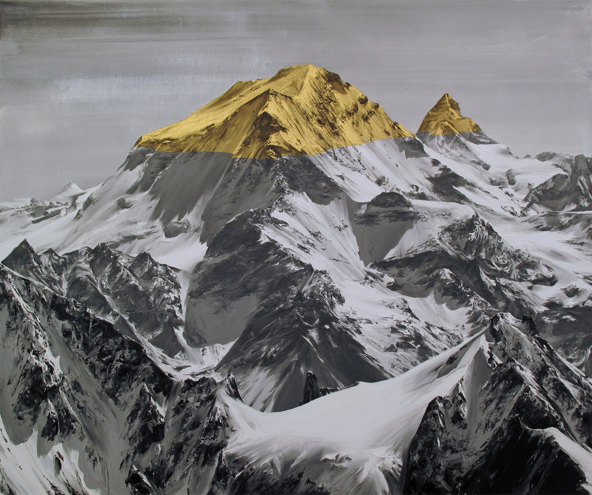 """The top"", óleo sobre lienzo, 2014."