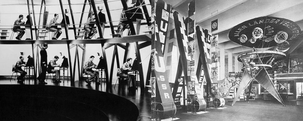 """""""1984""""- 1956 - Michael Anderson y """"El pabellón URSS""""- 1928 - Lissitzky."""