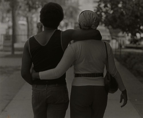 Couple Walking,Roy DeCarava, 1979