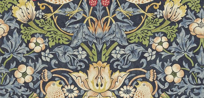 Diseños que perduran: Los estampados de William Morris